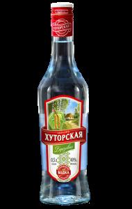 """Водка """"Аквадив Хуторская березовая"""" 0,5 л 40%"""
