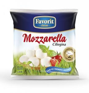 "Сыр мягкий ""Favorit cheese"" ""Моцарелла Чельеджина"" 100 гр."