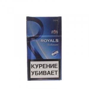 """Табачный набор сигареты с фильтром """"Ротманс роял компакт"""" и спички"""