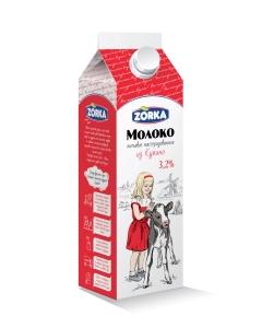 "Молоко ""Зорька"" (Купино) 900 гр. 3,2%"