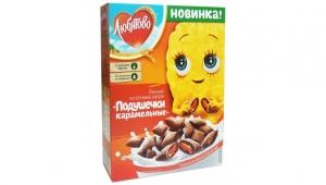 """Подушечки с карамельной начинкой """"Любятово"""" 250 гр."""