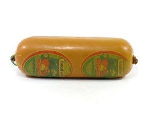 """Сыр колбасный """"Плавыч"""" копченый 40% вес."""