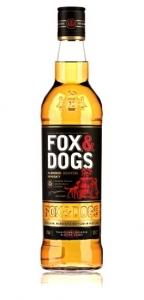 "Виски шотландский ""Fox&Dogs"" (Фокс энд Догс) 40% об. 0,5л"