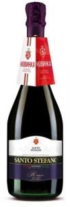 """Напиток винный особый газированный красный полусладкий """"Санто Стефано"""" 8% 0,75 л"""