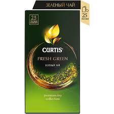 "Чай ""Curtis"" Фреш Грин зеленый 25*2г"