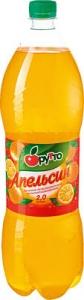"""Безалкогольный напиток """"Фрутто"""" апельсин (ПЭТ 2,0 л)"""