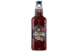 """Напиток ароматизированный изготовленный на основе пива """"Seth & Riley's Garage hard"""" 4,6% 0,44 л (Сет энд Райлис Гараж хард вишня)"""