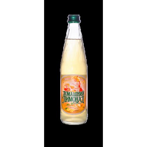 """Напиток газированный """"Домашний лимонад имбирный"""" (Бочкари) с/б  0,5 л."""
