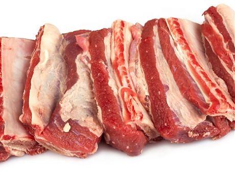 Ребра говядины мясные вес.