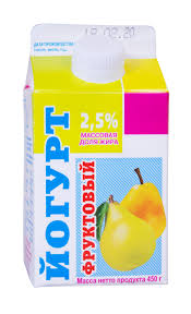 """Йогурт """"Ирмень"""" груша 2,5% 450 гр."""