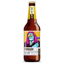 """Пиво  """"Грипаедов""""  0,5 с/б"""