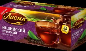 """Чай """"Лисма"""" индийский отборный 25* 2 г"""