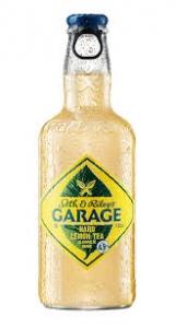 """Напиток ароматизированный изготовленный на основе пива """"Seth & Riley's Garage hard lemon Tea"""" 0,44 л(Сет энд Райлис Гараж хард лимон)"""