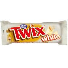 """Шоколадный батончик """"Твикс"""" белый шоколад  55 г"""