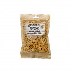 "Арахис жареный соленый со вкусом ""Салями"" (Голдэн микс) 150 гр."