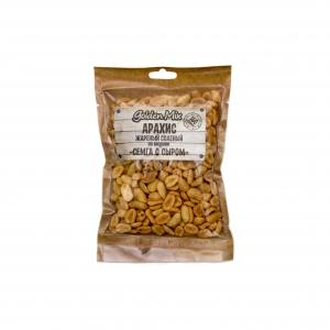 """Арахис жареный соленый со вкусом """"Семга с сыром"""" (Голдэн микс) 150 гр."""