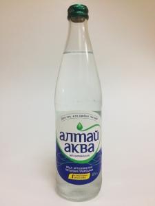"""Вода питьевая не газированная """"Алтай аква"""" с/б 0,5 л."""