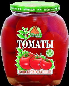 """Томаты """"Медведь Любимый"""" Премиум маринованные 720 мл"""