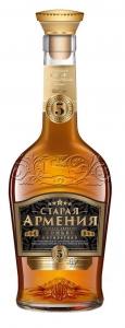 """Коньяк пятилетний """"Старая Армения"""" 40% 0,5 л."""