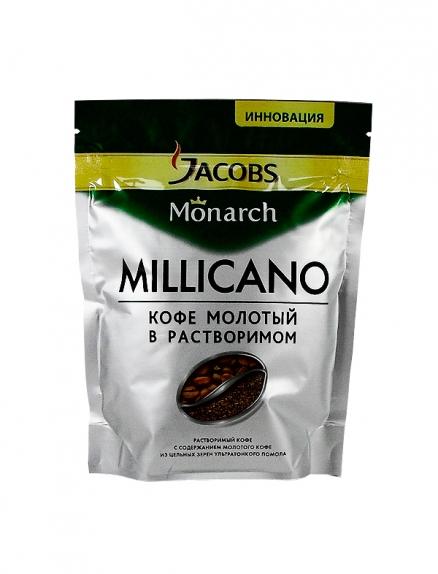 """Кофе """"Jacobs Monarh Milicano"""" (Якобс Монарх Милликано) м/у 150 г"""