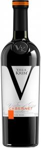 """Вино Каберне сухое красное """"Villa Krim"""" 11,5-12,5% 0,75л."""