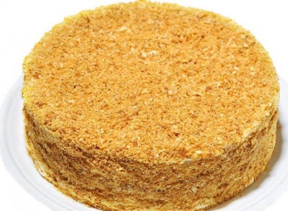 """Торт """"Медовое чудо"""" чернослив/орех 420 гр.1 шт"""