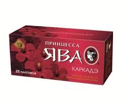 "Чай ""ЯВА"" каркадэ 25п."