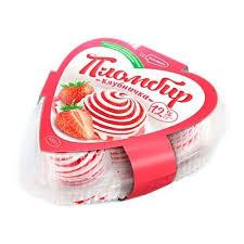"""Мороженое -торт """"Сердце"""" клубника 400гр."""