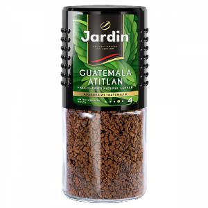 Кофе растворимый JARDIN Guatemala Atitlan, сублимированный, 95г, стекло