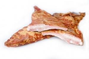 Рёбра свиные копчёные 1 кг.