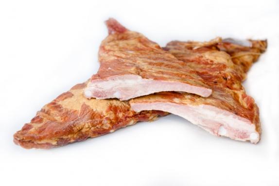 Рёбра свиные в/к в/у (Торговая площадь) вес.