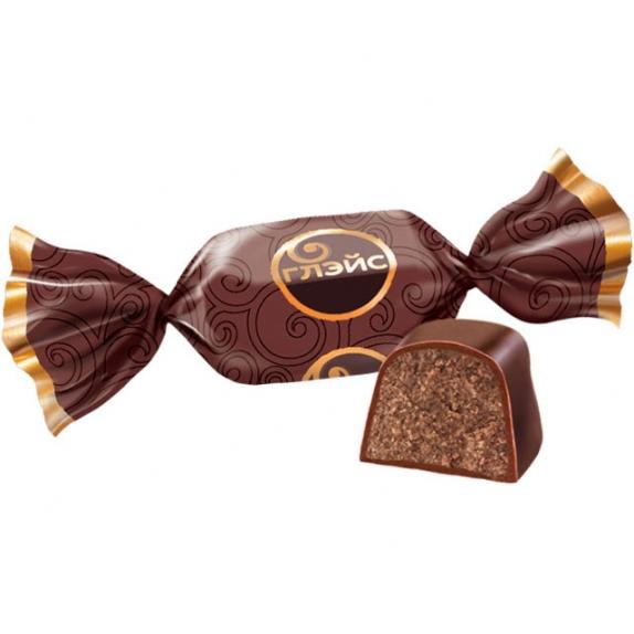 """Конфеты """"Глейс"""" с шоколадным вкусом вес. 1 кг."""