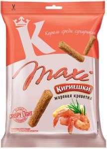 """Сухарики """"Кириешки"""" Maxi со вкусом жареной креветки 60гр"""