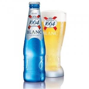 "Пиво ""Kronenbourg 1664 Blank"" 4,5% (бут. 0,45 л)"