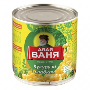 "Кукуруза сладкая ""Дядя Ваня"" 340 гр."