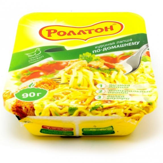 "Роллтон  куриная ""по-домашнему"" 90 гр."
