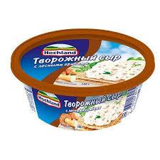 Сыр плавленый Хохланд (ванночка) творожный  с лесными грибами  140 гр