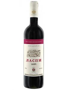 """Вино столовое п/сл красное """"Ласпи"""" 0,75 л."""
