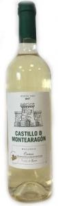 """Вино """"Кастильо де Монтеарагон Макабео""""  бел. п/сл 0,75л. 12%"""