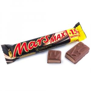 """Шоколадный батончик """"Марс"""" Max 81 г"""