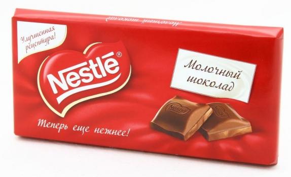 """Шоколад """"Nestle"""" Молочный 100 г"""