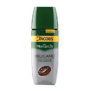 """Кофе """"Jacobs Monarh Milicano"""" (Якобс Монарх Миликано) стекло 95 г"""