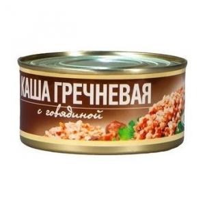Каша гречневая с говядиной РУЗКОМ 325 г