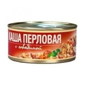 Каша перловая с говядиной РУЗКОМ 325г