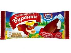 """Мороженое эскимо """"Алтайская Буренка"""" в шок. глазури 70г"""