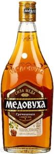 """Настойка горькая """"Медовуха гречишная"""" с ароматом меда0,5л 40% об."""