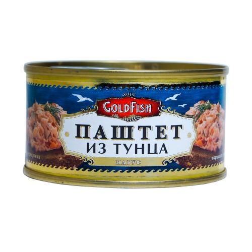 """Паштет из тунца """"ГолдФиш"""" ключ 125 гр."""