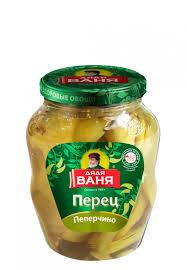 """Перец острый Пеперчино зеленый """"Дядя Ваня"""" 680 гр."""