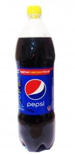Безалкогольный напиток Pepsi ПЭТ 1 л.