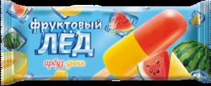 "Мороженое фруктовый лед ""Арбуз-дыня"" 60 гр."